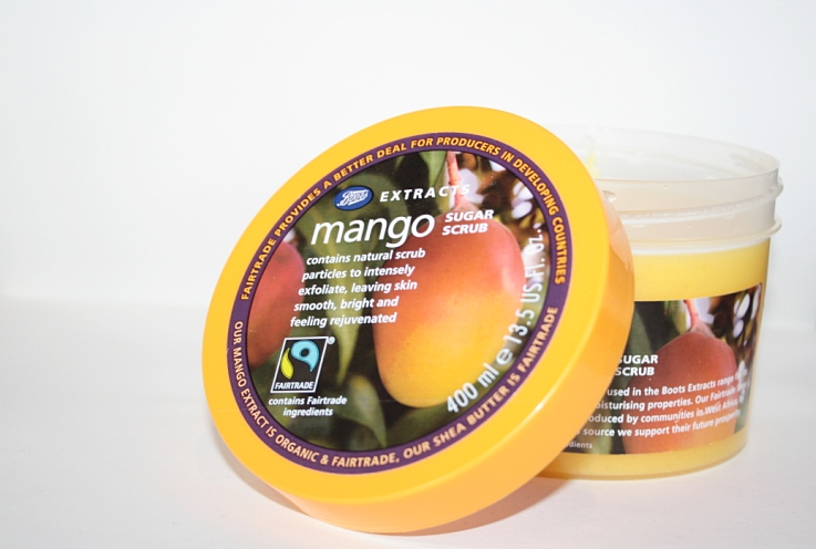 REVIEW - Boots Extracts Mango Sugar Scrub   Beauty's Bad Habit