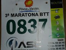 A minha primeira Maratona BTT