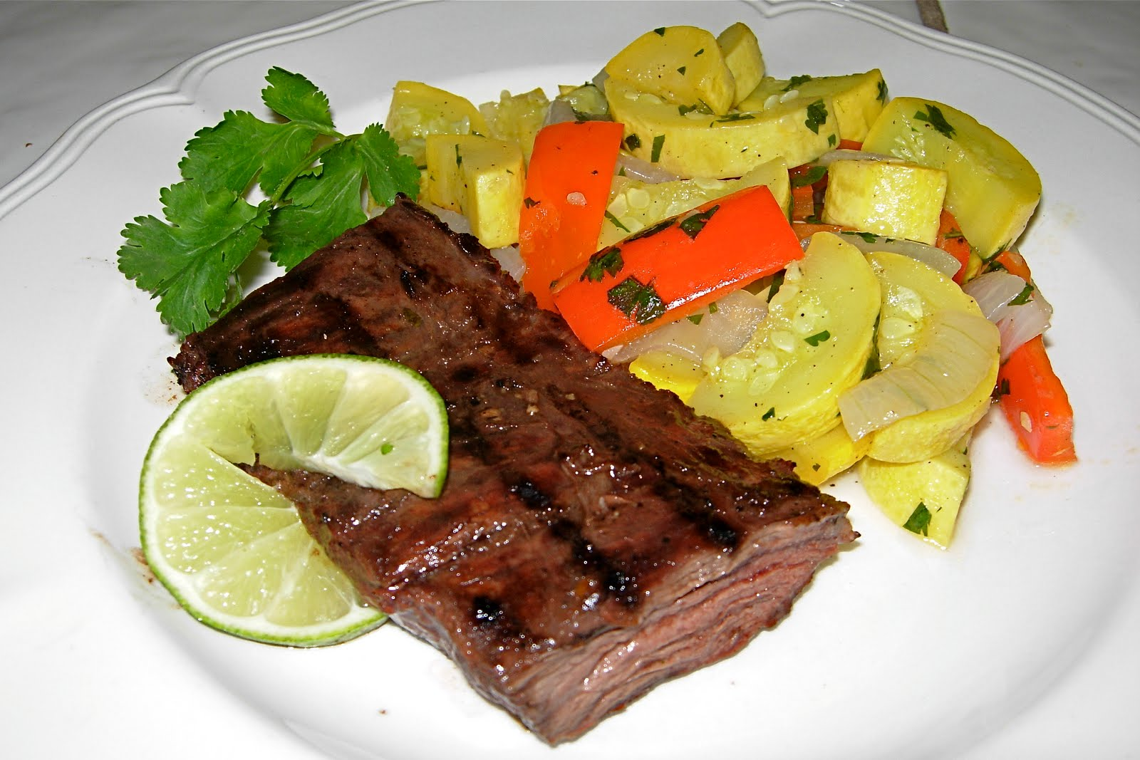 marinade to the rescue again i marinaded this wonderful skirt steak ...