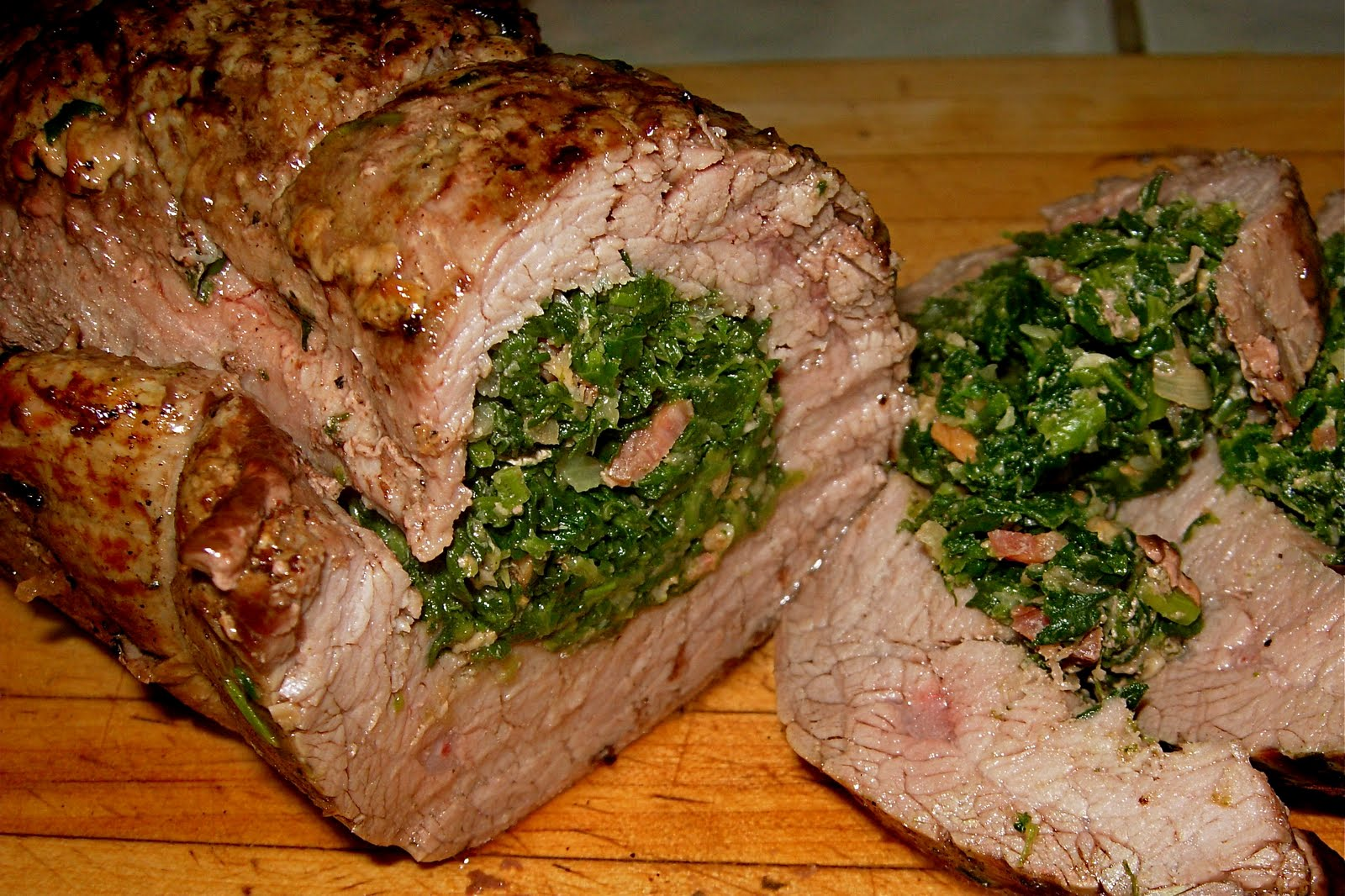 CFSCC presents: EAT THIS!: Festive Rolled Flank Steak with Spinach