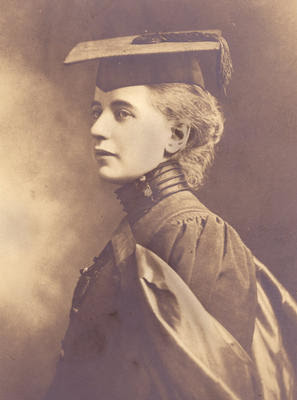 Elisabeth Ross at her graduation