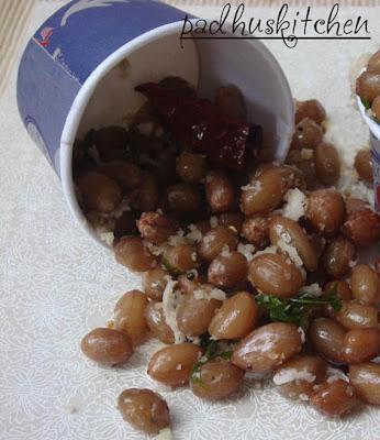 peanut sundal recipe-navaratri sundal recipe