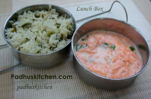 Lunch Box Recipes Ideas Indian