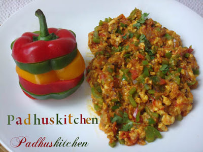 Paneer Bhurji-How to make paneer bhurji