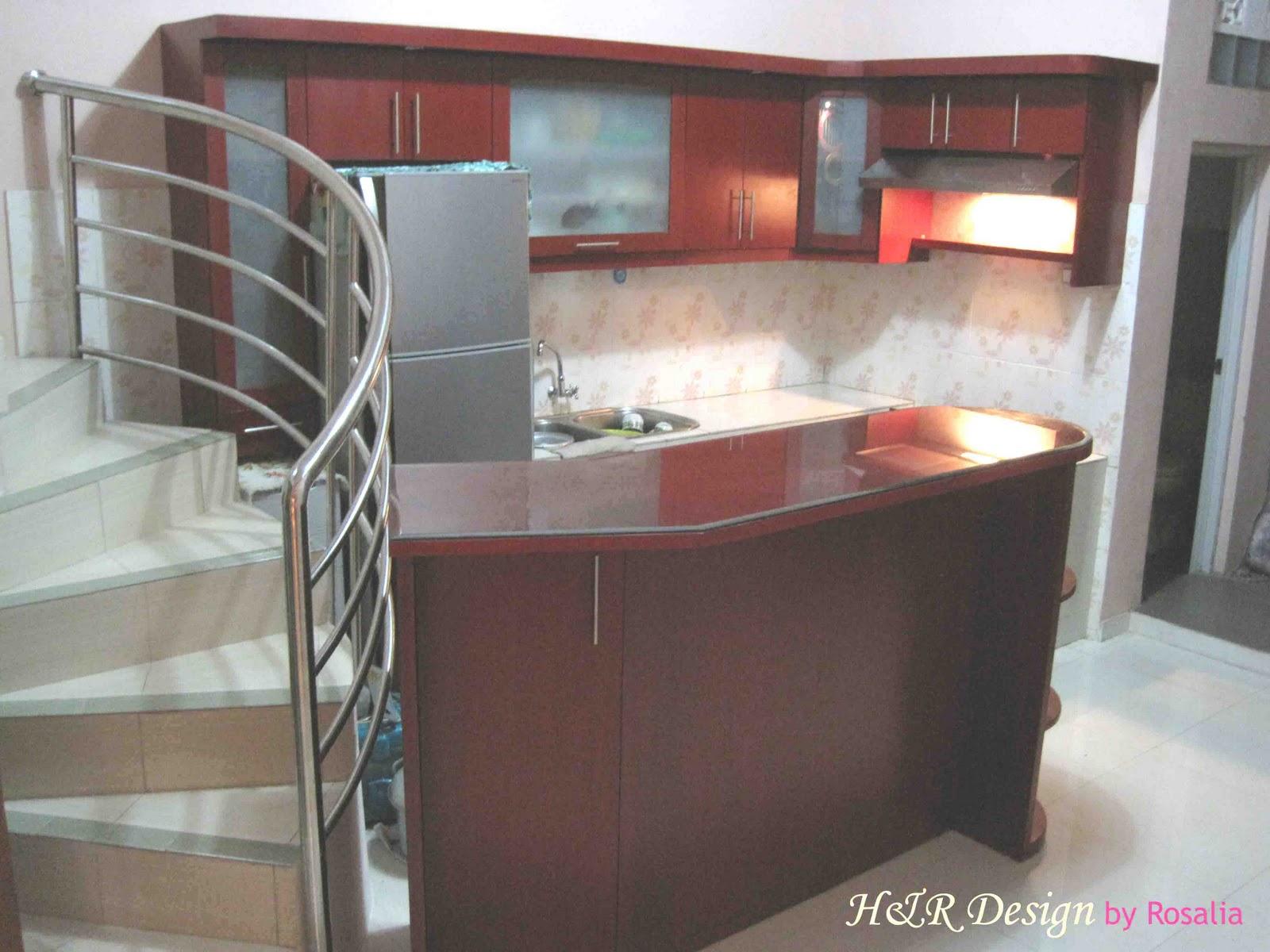 H r interior furnishings design kitchen set for Harga pembuatan kitchen set per meter