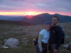Sunrise at Long's Peak