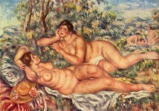 Les baigneuses (1918-1919) Rmn/ Hervé Lewandowski