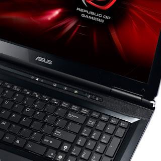 ASUS G51Jx 3D Keyboard