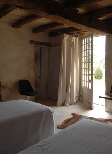 Double room, Le Logis de Puygaty Bed and Breakfast as seen on linenandlavender.net