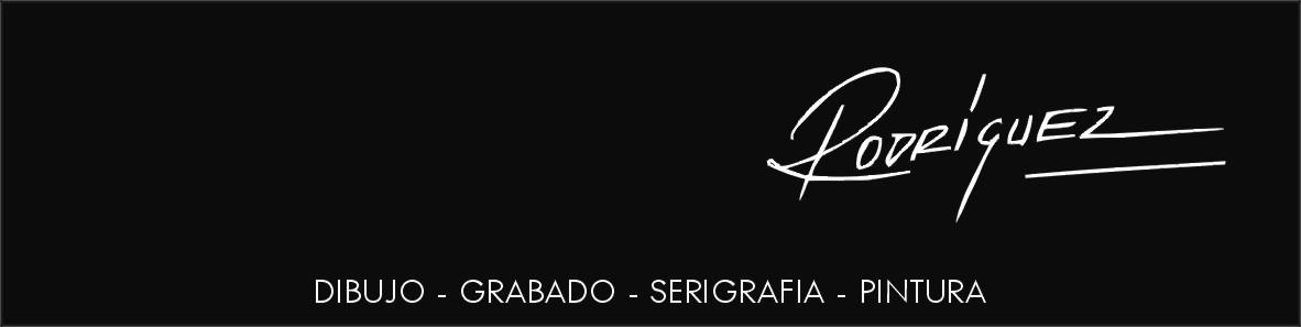 OBRA GRAFICA DE  RODRIGUEZ