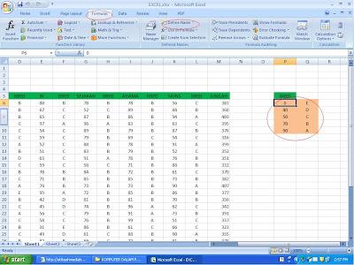 Microsoft, Microsoft Excel, Refleksi Microsoft, Senyum Manis, Comel, Komputer, Pendidikan, Teknologi Komputer