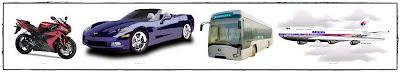 Kereta, Motor, Bas, Kapal Terbang, Pengangkutan Awam, Transport