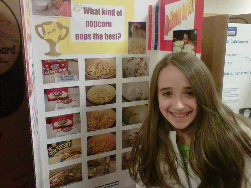 ... grade science projects popcorn science fair projects for 5th grade