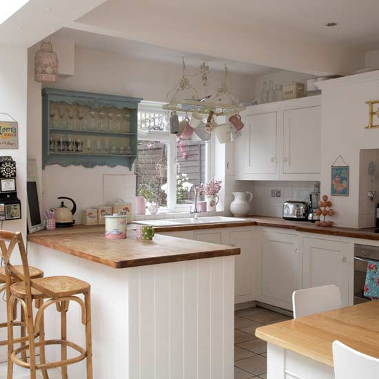 Coastal village life kitchen inspiration for Country kitchen inspiration