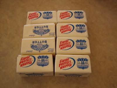 Sticks Of Butter. 1/2 cup sticks of utter,