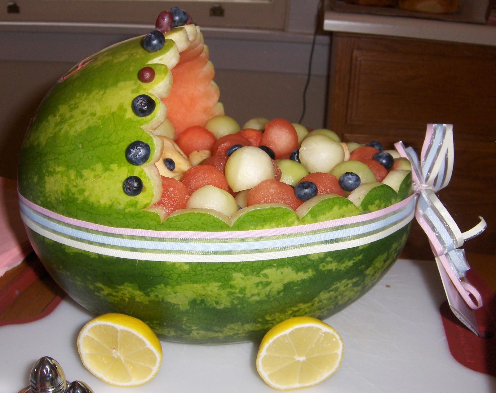 baby shower watermelon fruit baskets watermelon fruit basket baby