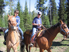 Riding Horses in the Tetons