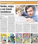 Entrevista a JUNIOR en el diario Día a Día