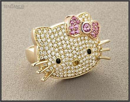 hello kitty rings cheap 2011