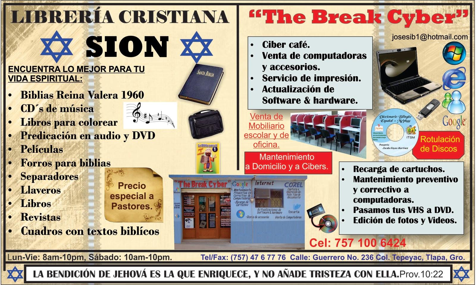 Gu a de negocios y m s tlapa el buen servicio nos distingue - Librerias cristiana ...