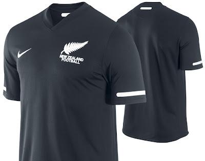 New Zealand Away Shirt 2010/11