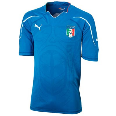 Italy World cup Home Shirts 2010