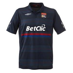 Lyon Third Kit 2009/10