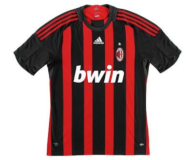 AC Milan home shirt 2008/09