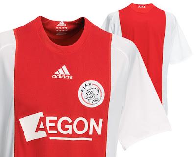 Ajax Home Shirt 2008/09