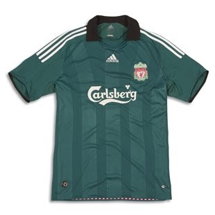 Liverpool Euro Away Shirt 08