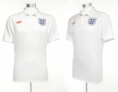 England Home Shirt 2009/11
