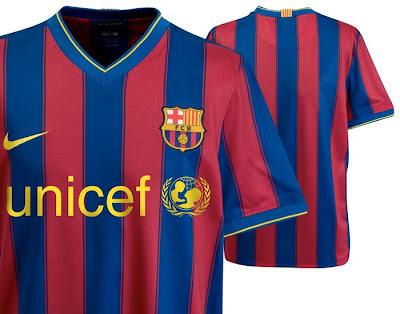 Barcelona News Barcelona+Home+Shirt+2009+10