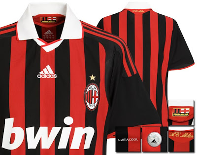 AC Milan Home Shirt 2009/10