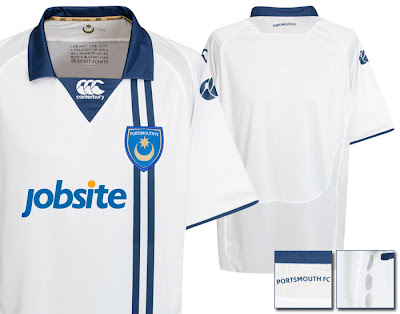 Portsmouth Away Shirt 2009/10