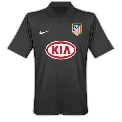 Athletico Madrid away shirt 2009/10