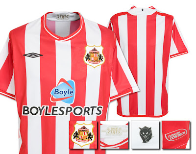 Sunderland Home Shirt 2009/10