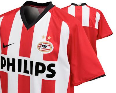 PSV Eindhoven Home Shirt 2008/10