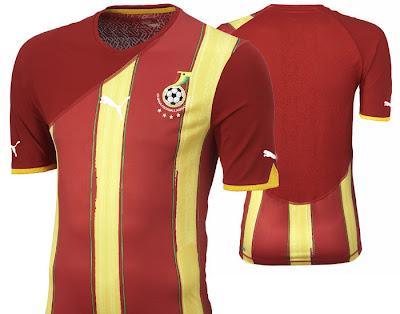 Ghana Away Shirt 2009/11
