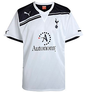 Tottenham Hotspur Home Shirt 2010/11