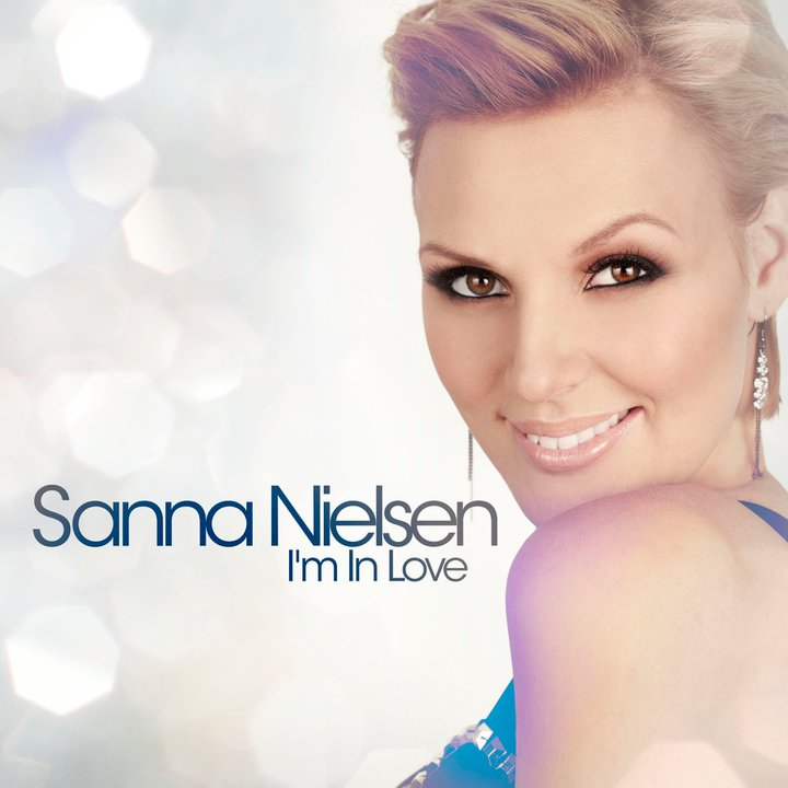 Sanna Nielsen: Swedish Stereo: In Love With New Sanna's Single Cover
