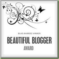Beautiful Bloggers Give Beautiful Awards
