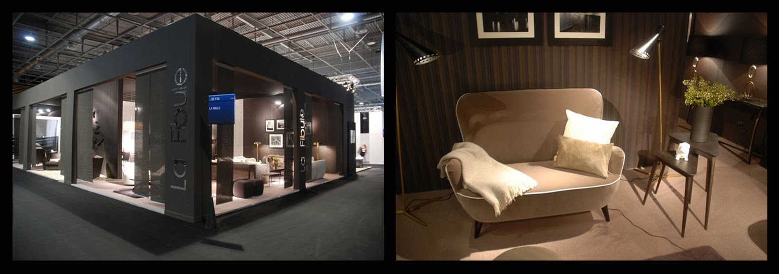 Black is great but black white is better hello peagreen - Maison et objet salon ...