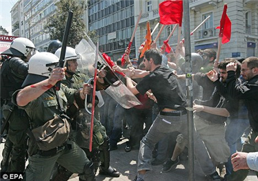 Photo Reporting: Expect Contagion in Europe, Greek Debt Crisis Will Spread; New Wave of Riots in Greece