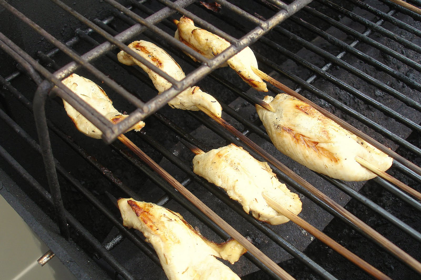 Baking For Boys: Grilled Lemon Chicken Skewers