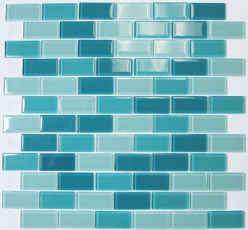 Mosaic tile bathroom vanities for home improvement ideas for Glass tile border bathroom ideas