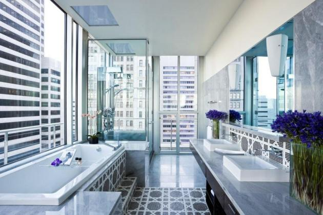 House Designs Luxury Homes Interior Design Joule Hotel Modern Contemporary Interior Design Tihany