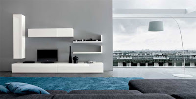 Modern Minimalist Living Room Decorating Ideas by Dall'Agnese ...