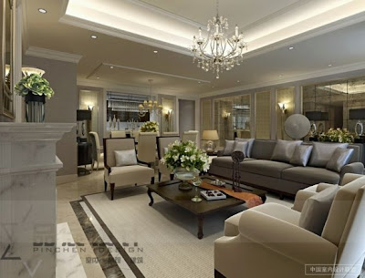 Modern Contemporary Living Rooms Design Ideas from Chinese by Pinchen Design