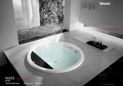 Seaside Spa BathTub Design by Desain Talucci   Teuco