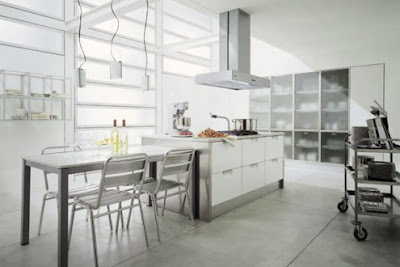 Modern Italian Style Kitchens Design from Cabinets by Design